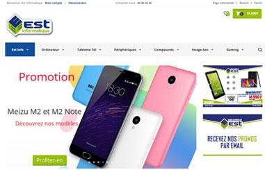 Boutique en ligne Est info